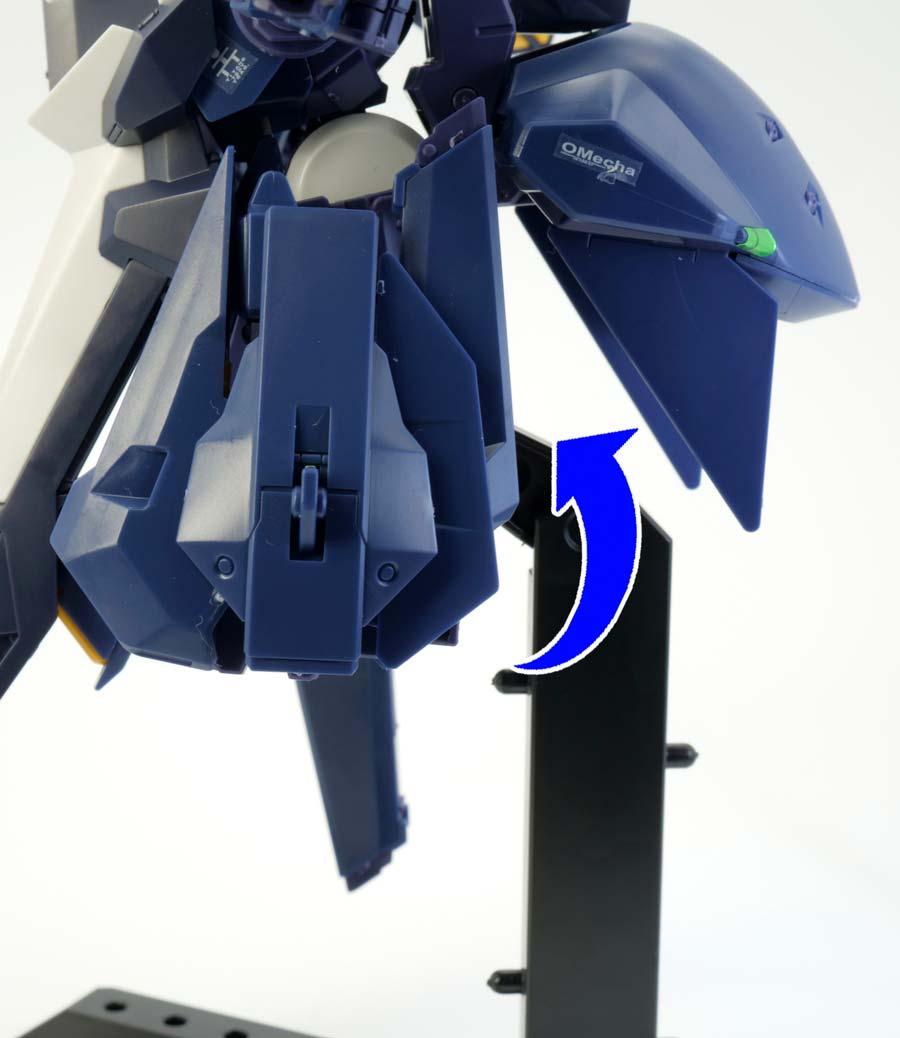HGガンダムTR-6[キハールII]のガンプラレビュー画像です