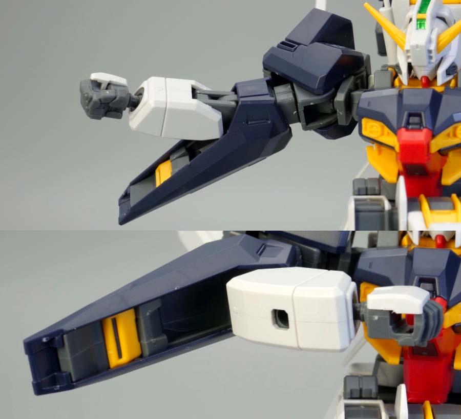 HGガンダムTR-1ハイゼンスレイのガンプラレビュー画像です