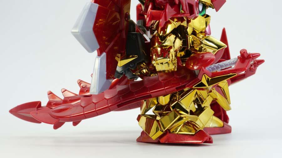 LEGEND BB 騎士スペリオルドラゴンのガンプラレビュー画像です