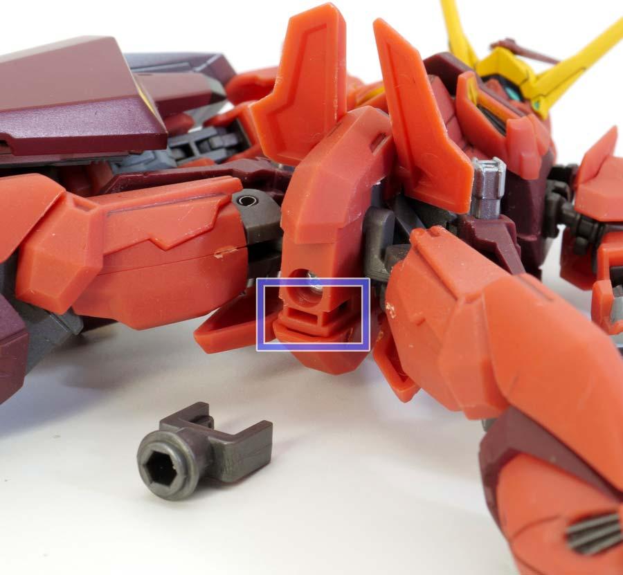 ROBOT魂テスタメントガンダムのレビュー画像です