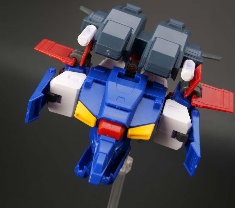 BB戦士ダブルゼータガンダムのガンプラレビュー画像です