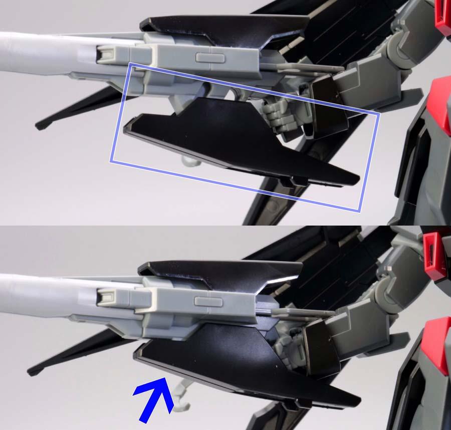 HG ガンダムAGE-2ダークハウンドのガンプラレビュー画像です