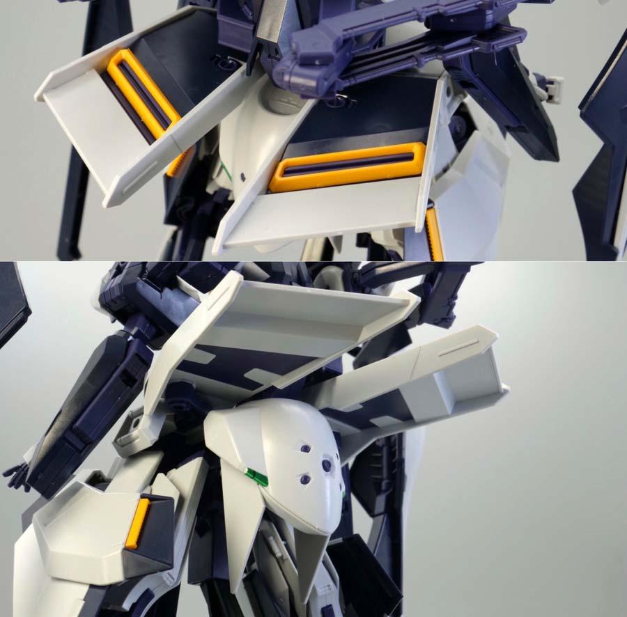 HGガンダムTR-6ハイゼンスレイII・ラーのガンプラレビュー画像です