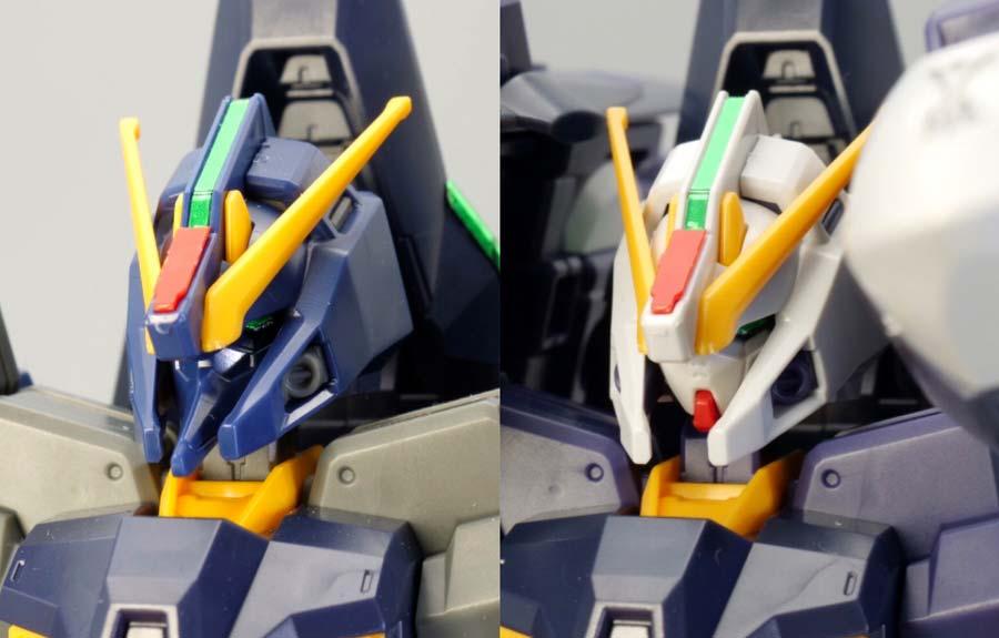 HGガンダムTR-6ハイゼンスレイIIとラーの違い・比較ガンプラレビュー画像です