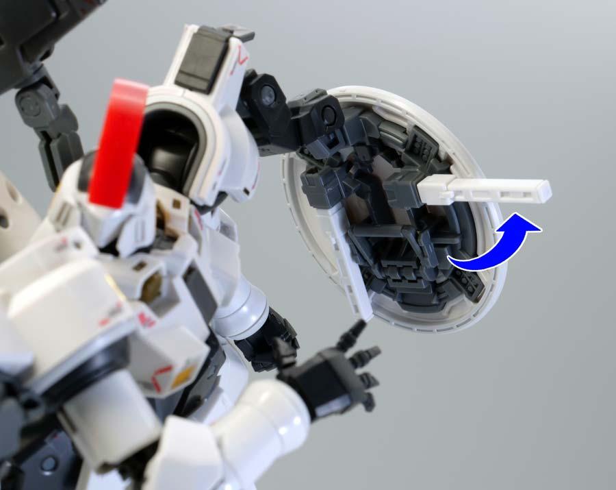 RGトールギス(TVアニメカラーVer.)のガンプラレビュー画像です