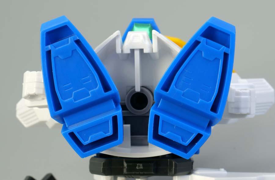BB戦士ガンダムエックスのガンプラレビュー画像です