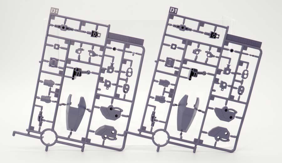 プレミアム・バンダイのHGリック・ディアス(クワトロ・バジーナ機)のガンプラレビュー画像です