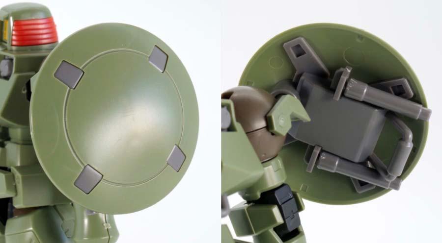 HGACリーオー(フルウェポンセット)のガンプラレビュー画像です