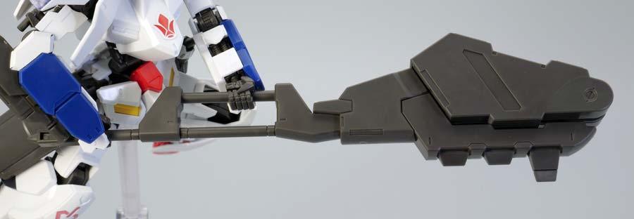 HGガンダムバルバトス第6形態のガンプラレビュー画像です