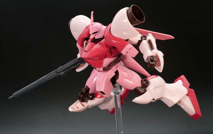 HGガーベラ・テトラ(キララ専用機)のガンプラレビュー画像です