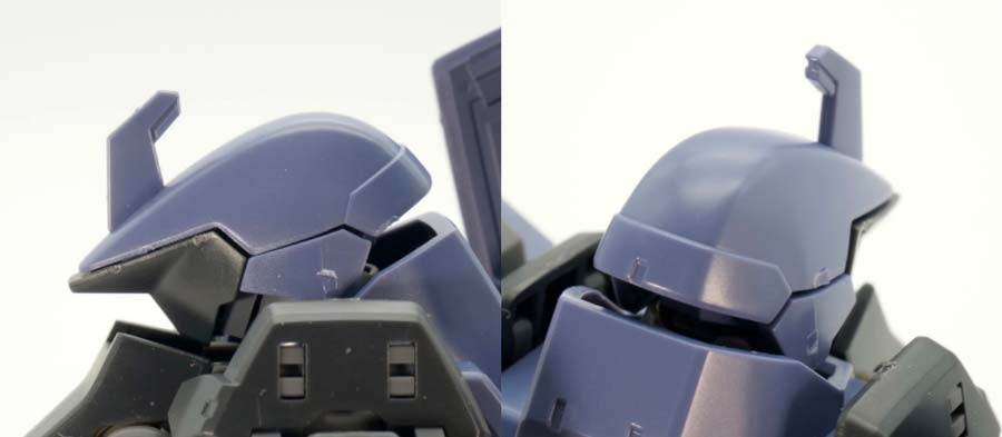 HGグレイズ(アーレス所属機 一般機/指揮官機)のガンプラレビュー画像です