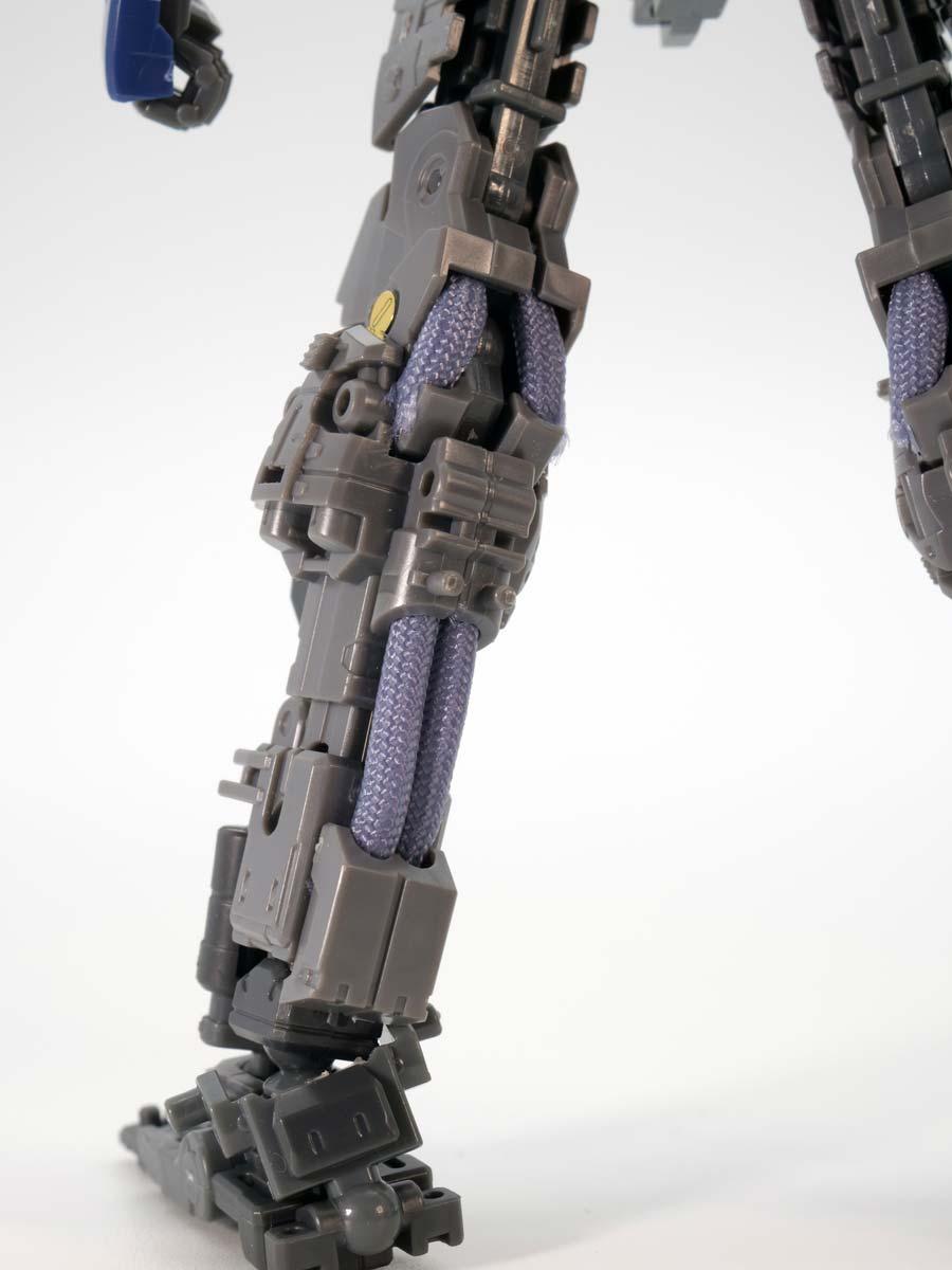 RGガンダムMk-II(ティターンズ仕様)のガンプラレビュー画像です