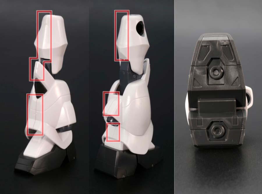 HGグフ イグナイテッド(イザーク・ジュール専用機)のガンプラレビュー画像です