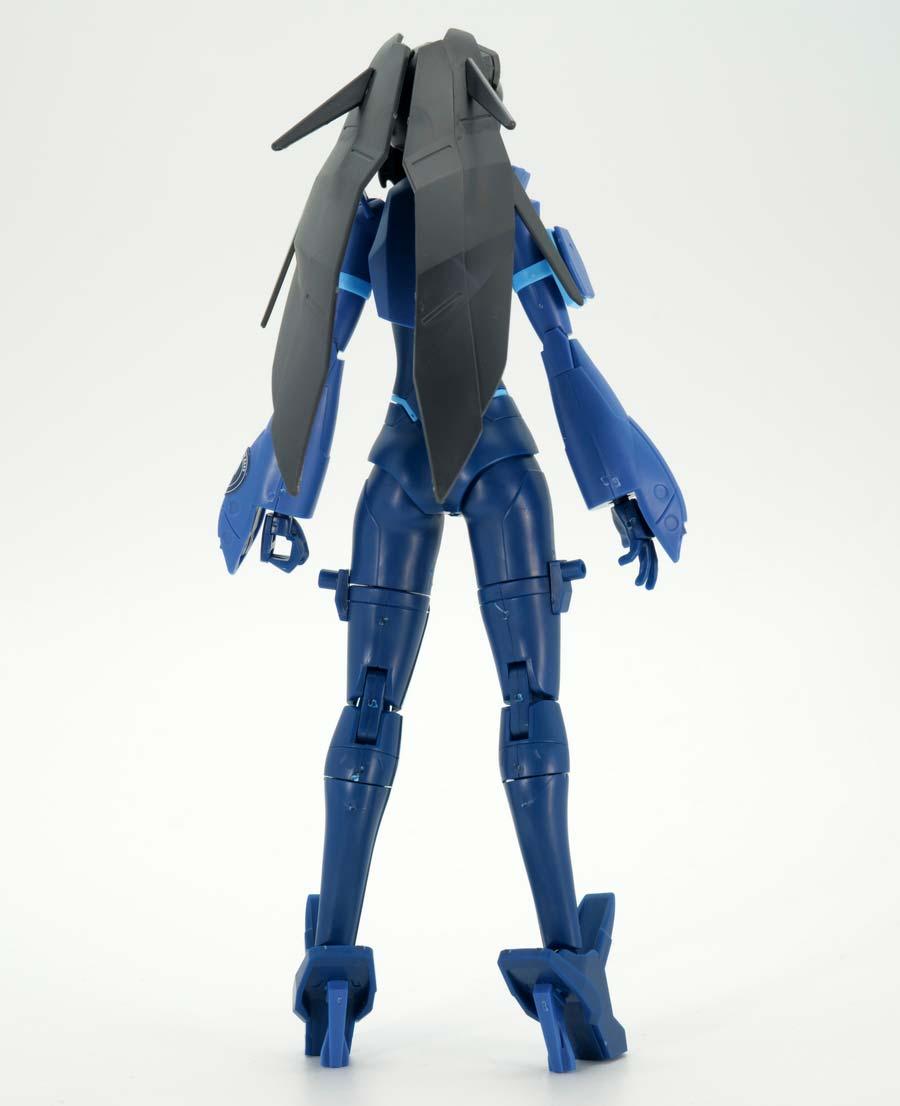 HG ガンダムベース限定 モビルドールメイ(ガンダムベースカラー)のガンプラレビュー画像です