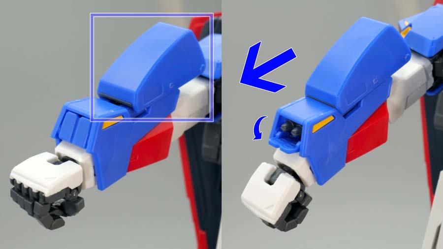 MG ゼータガンダム Ver.2.0のガンプラレビュー画像です