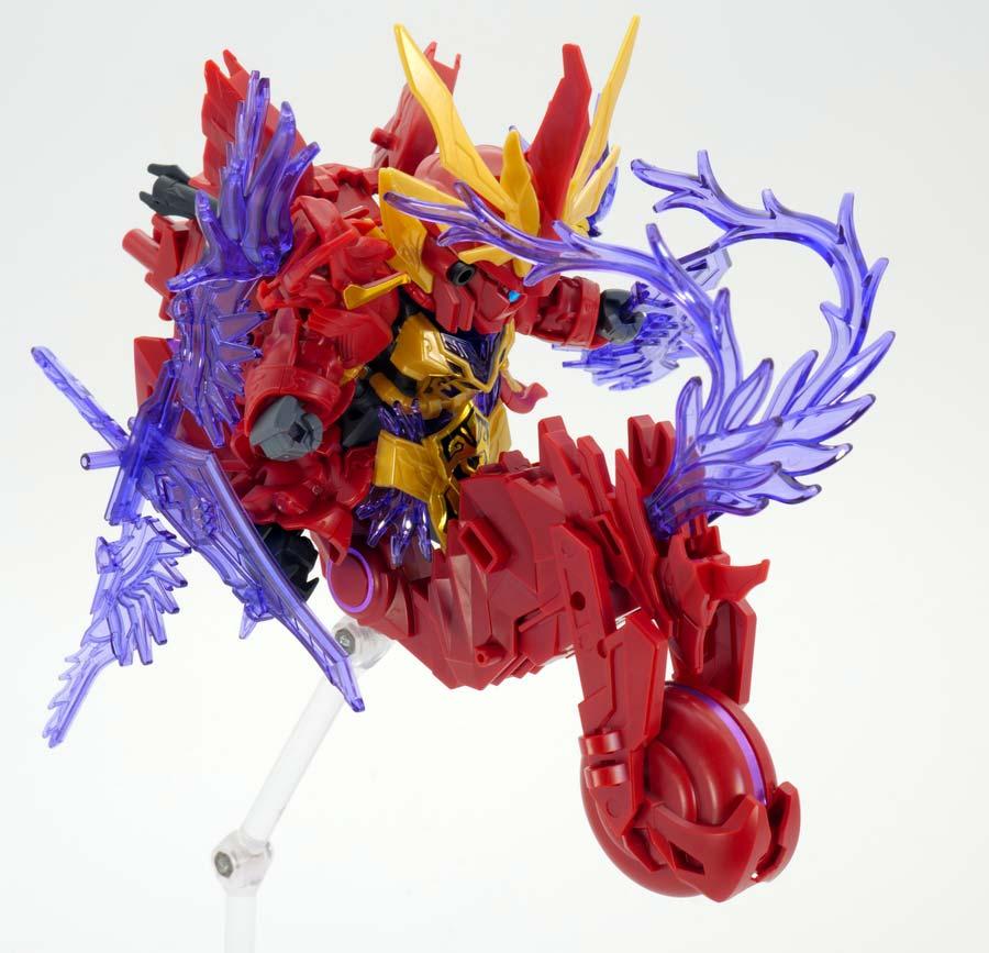 赤兎馬のガンプラレビュー画像です