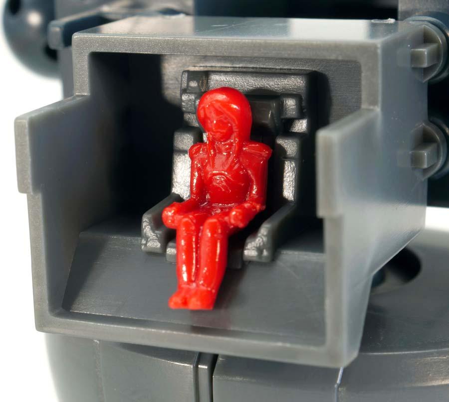 MGキュベレイMk-II(プルツー専用機)のガンプラレビュー画像です