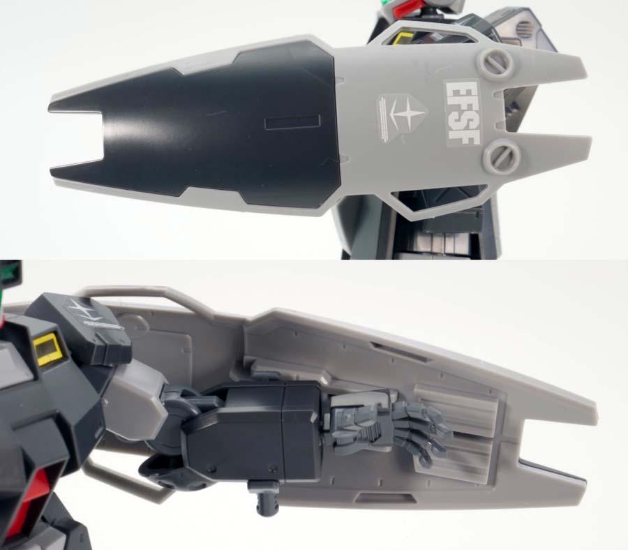 HGジム・スナイパーII(リド・ウォルフ機)のガンプラレビュー画像です