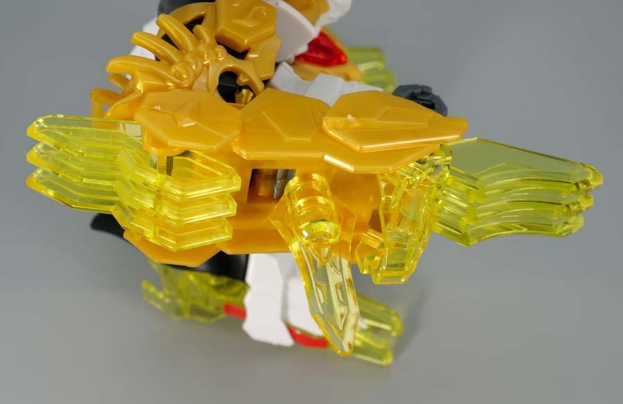 馬超ガンダムバルバトスのガンプラレビュー画像です