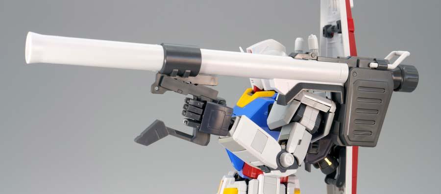 MG RX-78-2ガンダム Ver.3.0のガンプラレビュー画像です