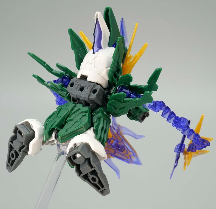 張郃(チョウコウ)アルトロンガンダムのガンプラレビュー画像です