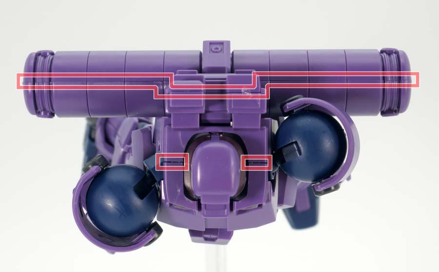 HGACリーオー(宇宙仕様)のガンプラレビュー画像です