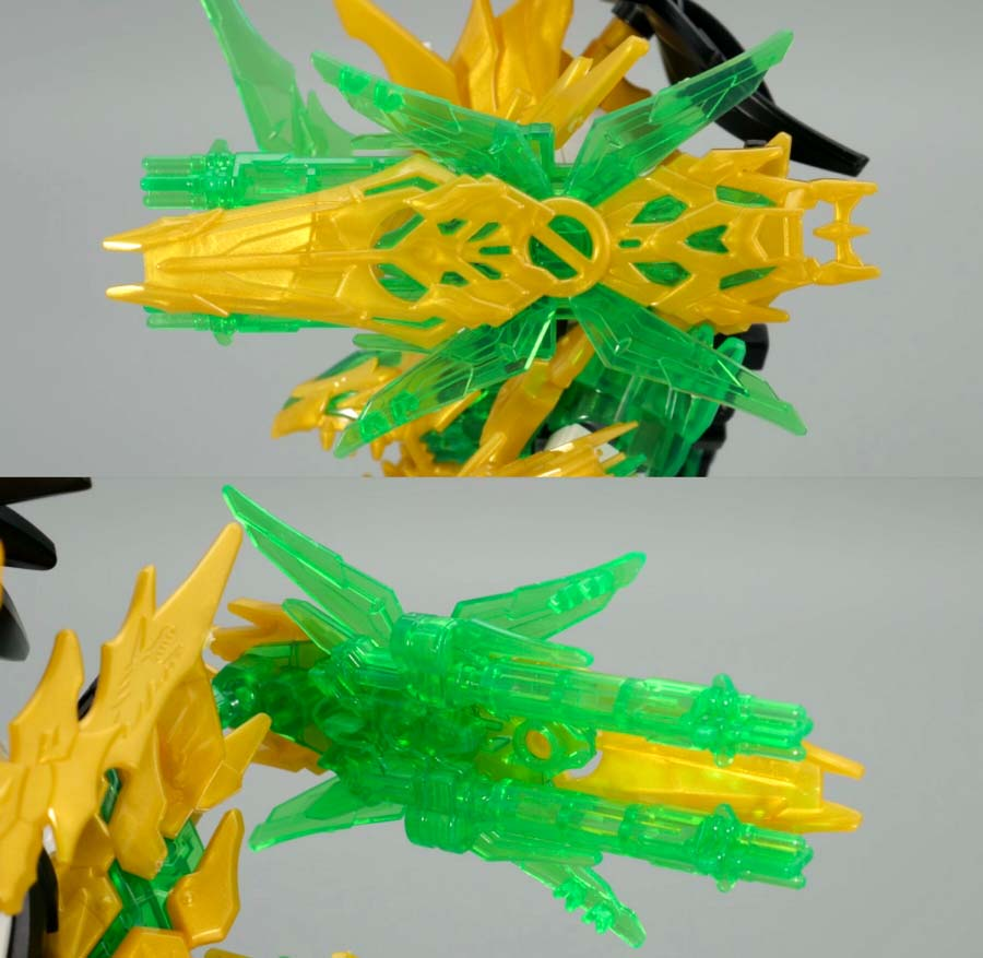 龍賢劉備ユニコーンガンダムのガンプラレビュー画像です