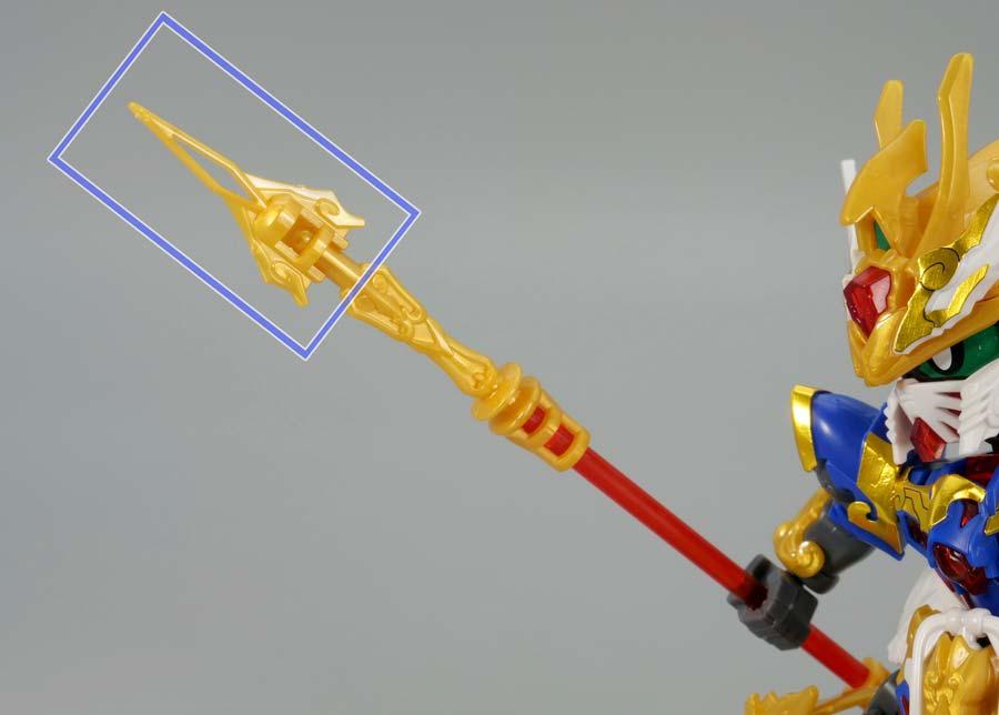 SDW悟空インパルスガンダムのガンプラレビュー画像です