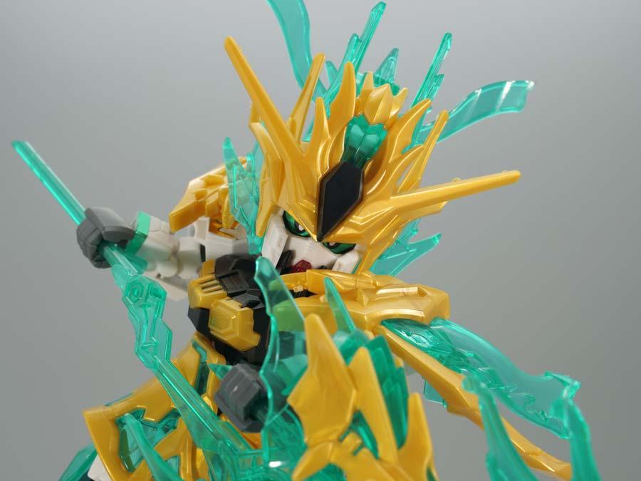 武聖関羽雲長νガンダムのガンプラレビュー画像です