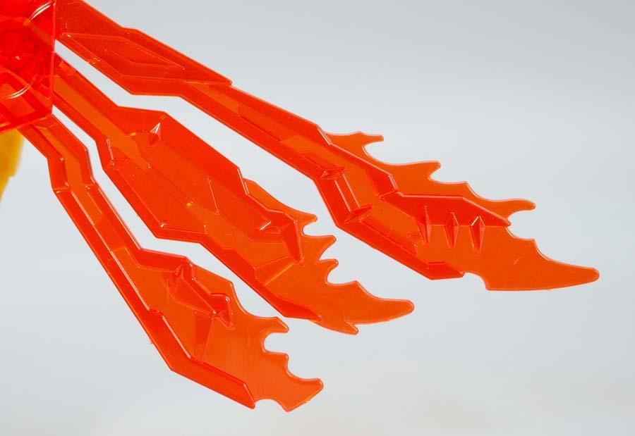 炎皇張飛ゴッドガンダムのガンプラレビュー画像です