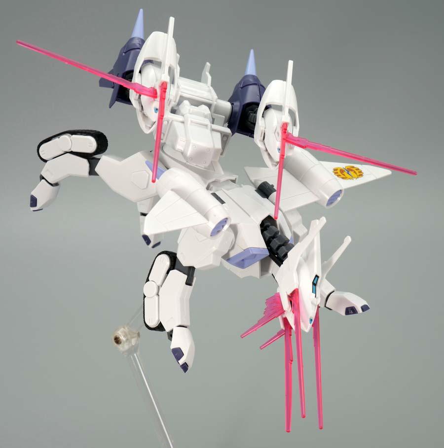 HGケルベロスバクゥハウンド(アレック・ラッド専用機)のガンプラレビュー画像です