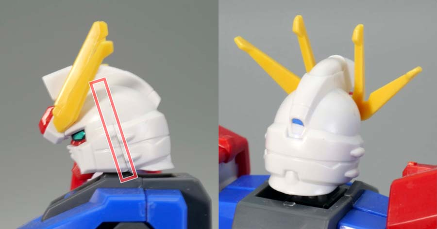HGBFビルドストライクガンダム フルパッケージのガンプラレビュー画像です