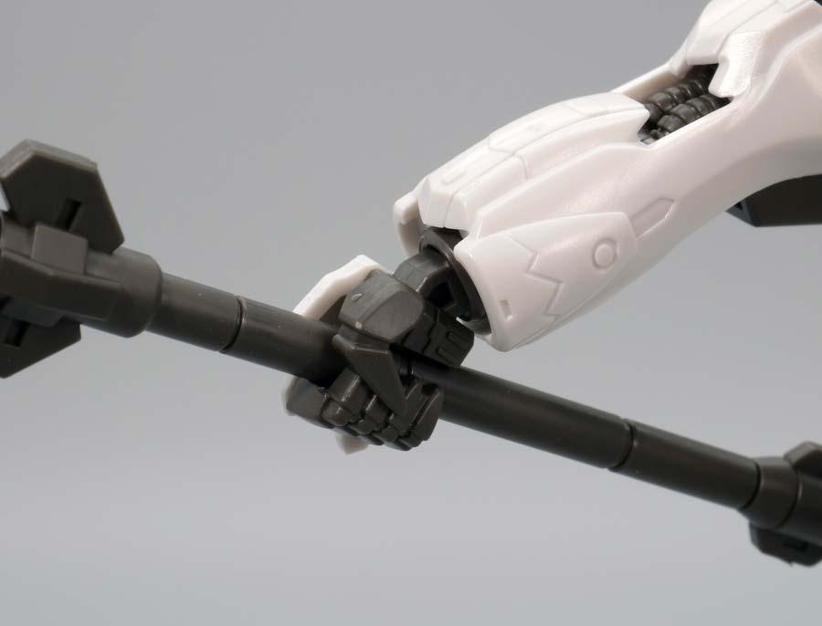 HGガンダムバルバトスルプスのガンプラレビュー画像です