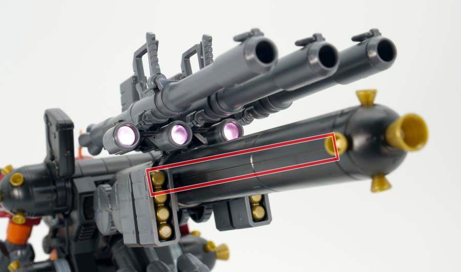 HG 高機動型ザク サイコ・ザク(GUNDAM THUNDERBOLT Ver.)のガンプラレビュー画像です