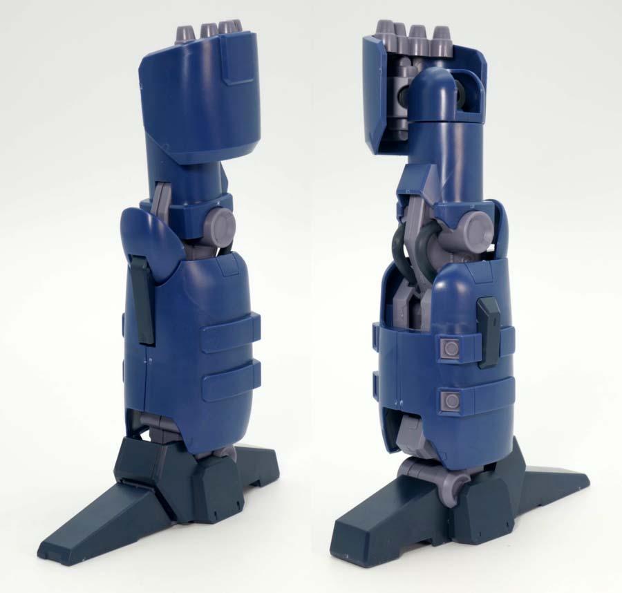 RE/100 ガンキャノン・ディテクターのガンプラレビュー画像です