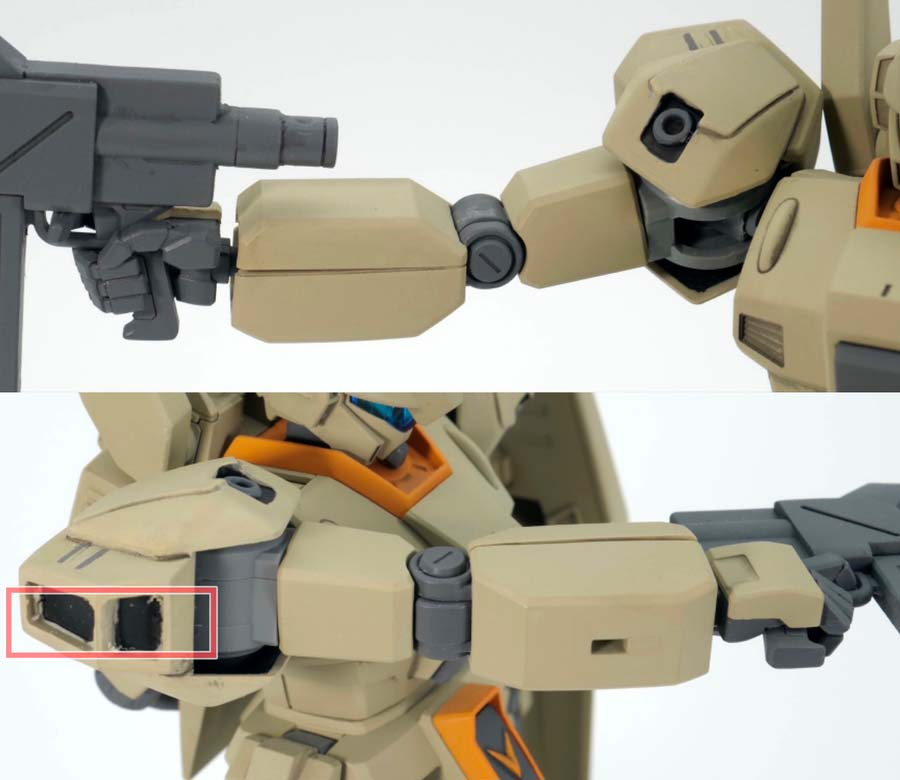 HGジェガンA-2型 ゼネラル・レビル配備型のガンプラレビュー画像です