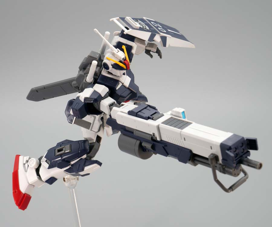 HGペイルライダー・キャバルリーのガンプラレビュー画像です