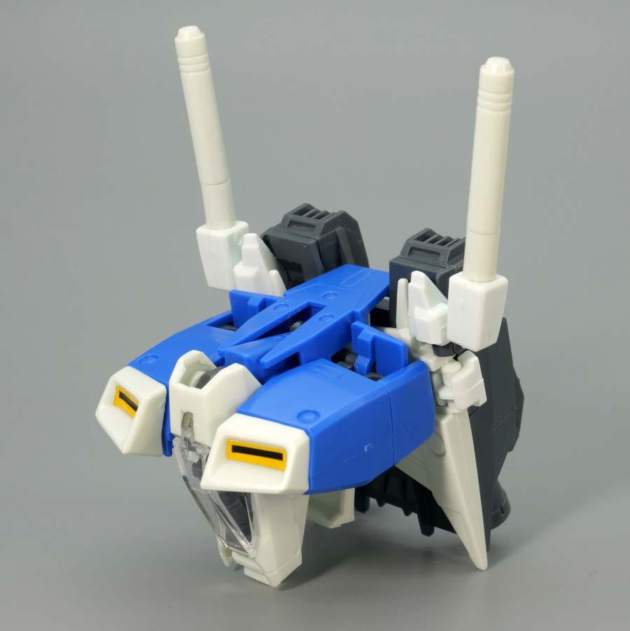 MGガンダムGP01試作1号機ゼフィランサスのガンプラレビュー画像です