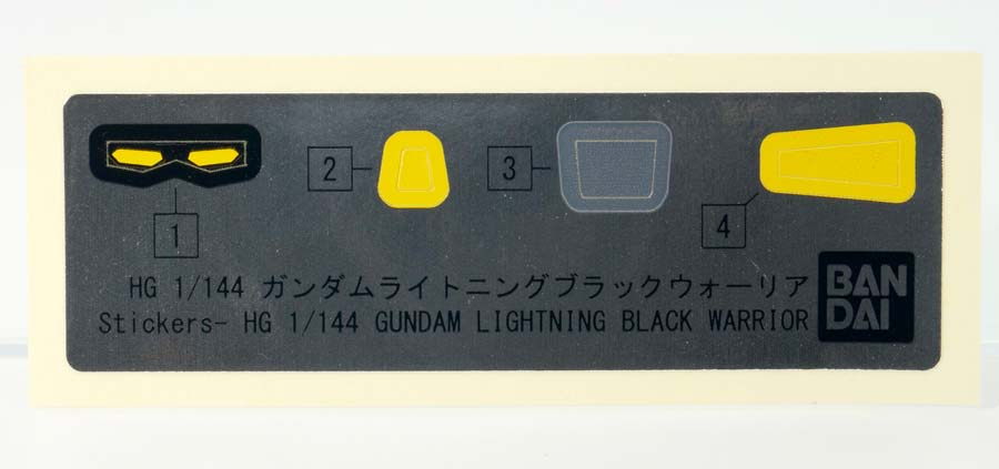 HGBFガンダムライトニングブラックウォーリアのガンプラレビュー画像です