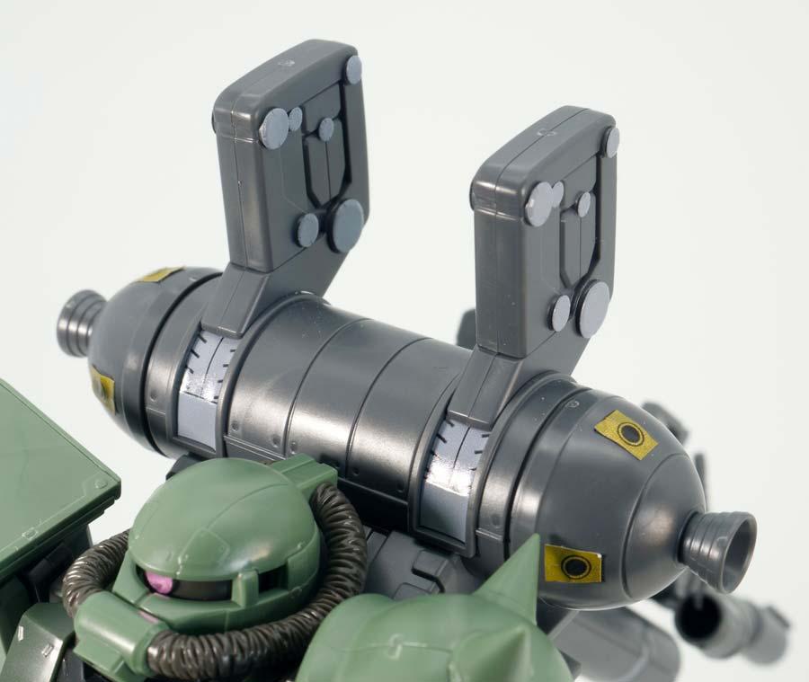 HG量産型ザク(GUNDAM THUNDERBOLT Ver.)のガンプラレビュー画像です