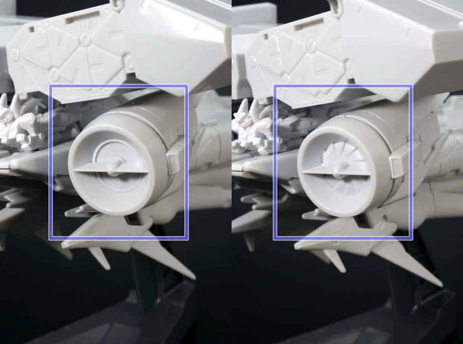 HG MECHANICS ガンダム試作3号機デンドロビウムのガンプラレビュー画像です