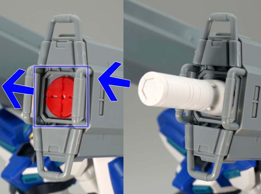 HGウィンダム&ダガーL用 拡張セットのガンプラレビュー画像です