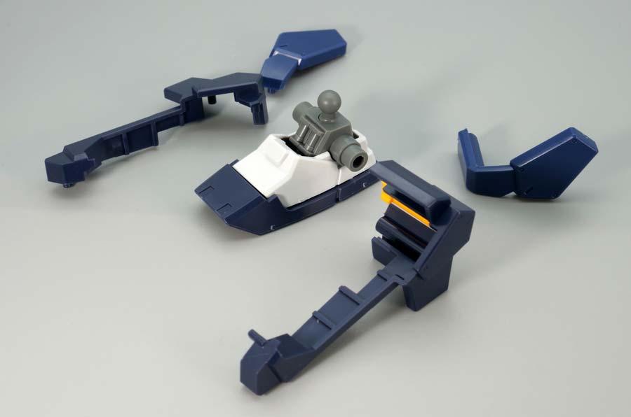 HGガンダムTR-1[ハイゼンスレイ・ラーII]のガンプラレビュー画像です