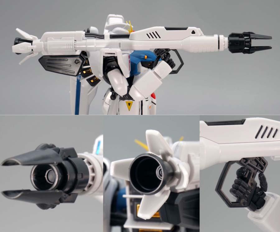 MGガンダムF91 Ver.2.0のガンプラレビュー画像です