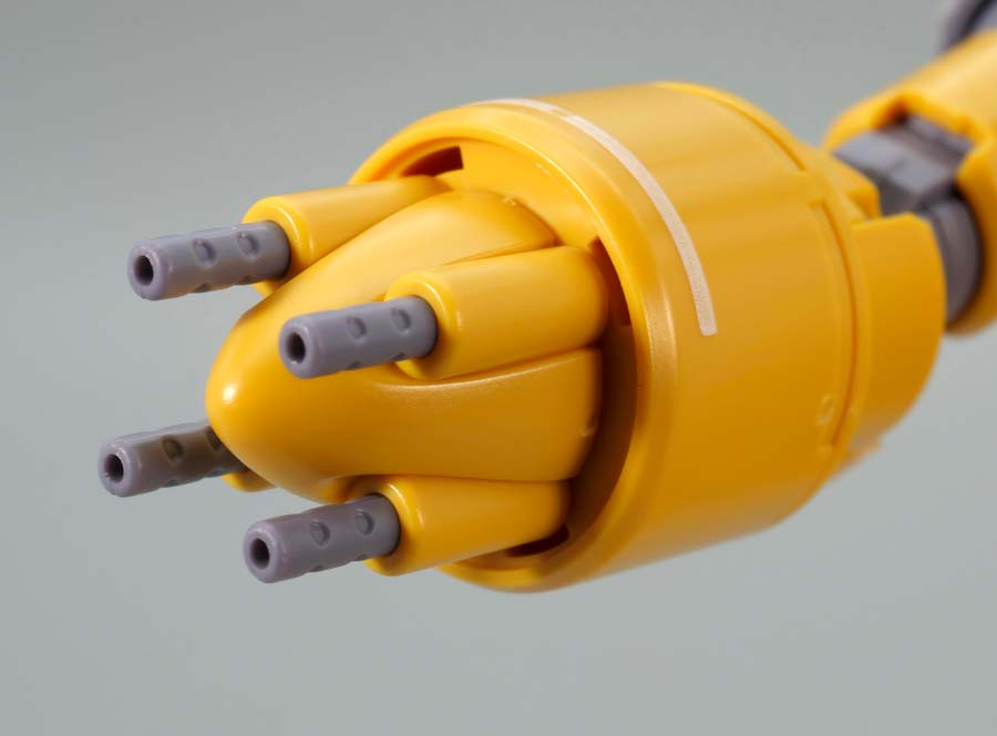 HGガンキャノン火力試験型のガンプラレビュー画像です